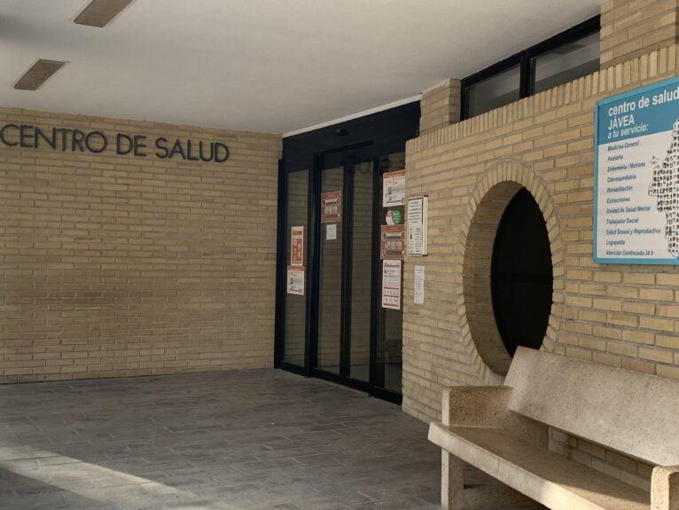 Entrada del Centro de Salud de Jávea