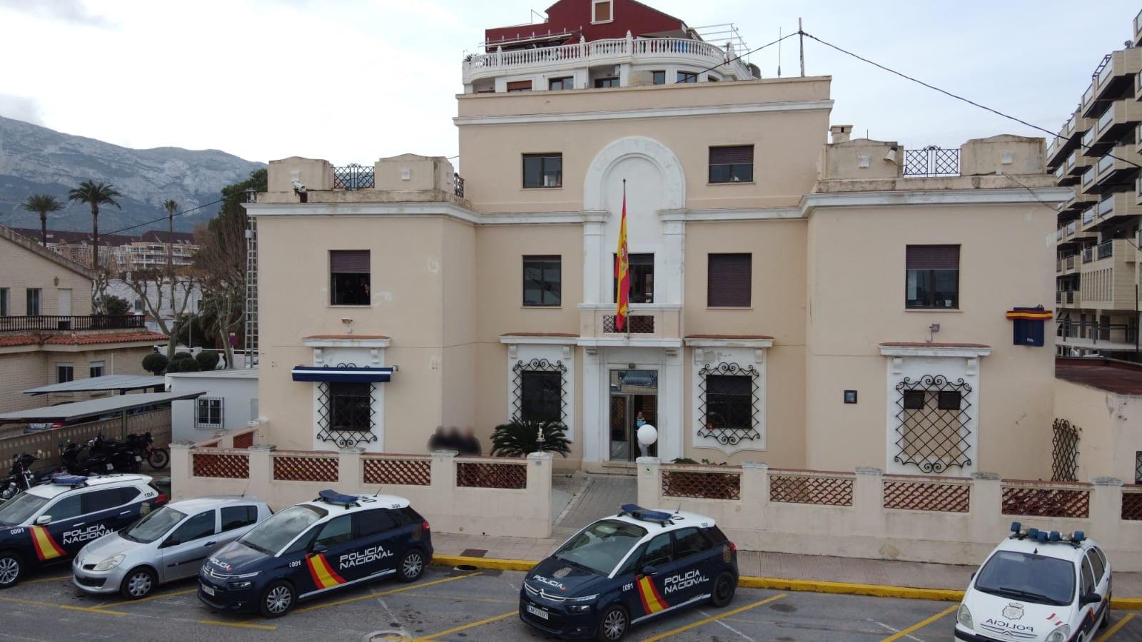 Foto archivo Comisaría de Dénia