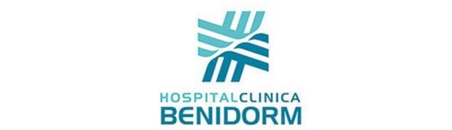 Imagen: Logotipo de Hospital Clínica Benidorm (HCB)