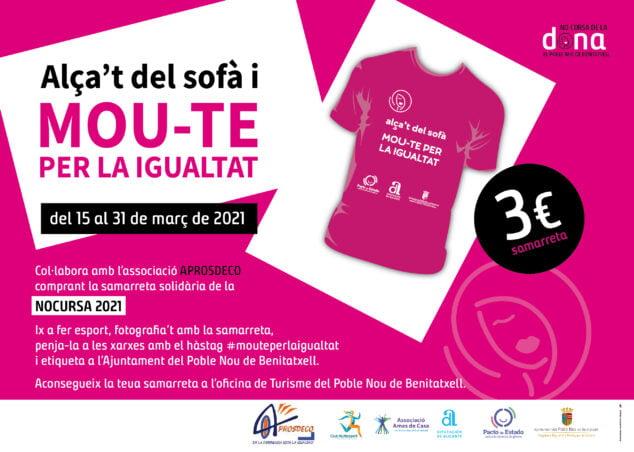 Imagen: No cursa Solidaria 2021 de Benitatxell