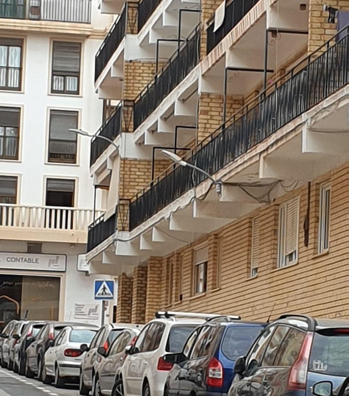 Nuevas luminarias en la calle Historiador Escolano