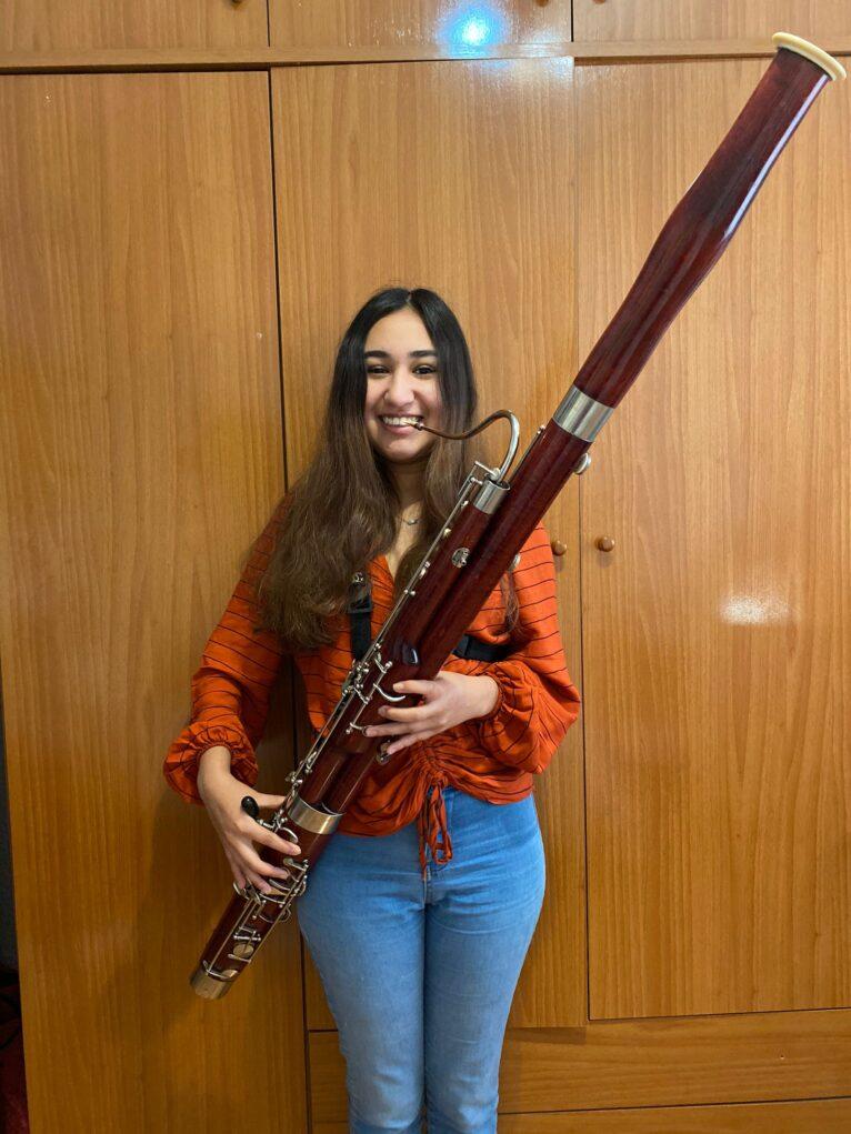 Nuevo fagot para el Conservatorio Musical