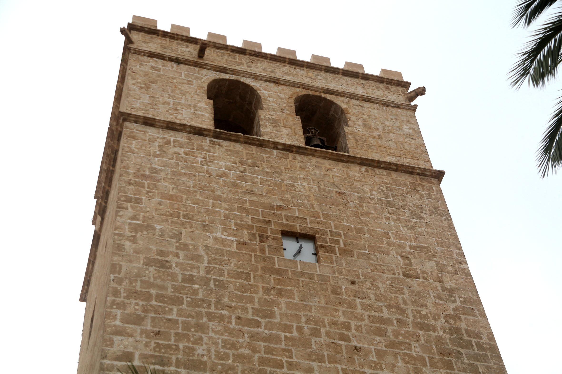 Nuevo reloj de la Iglesia San Bartolomé