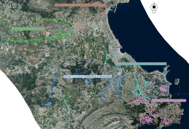 Imagen: Plan asfaltado Xabia 2021