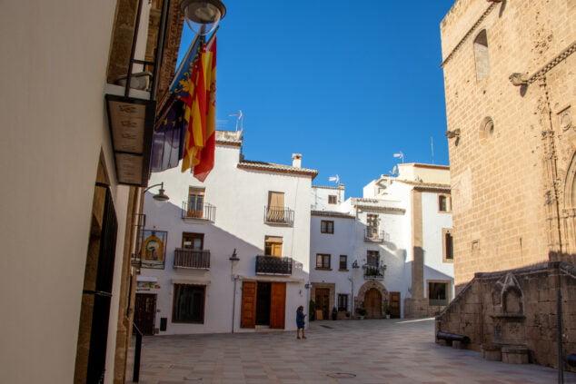 Imagen: Centro histórico de Xàbia