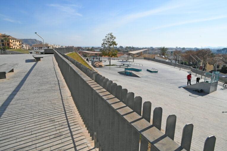 Reparación del Skate Park de Xàbia