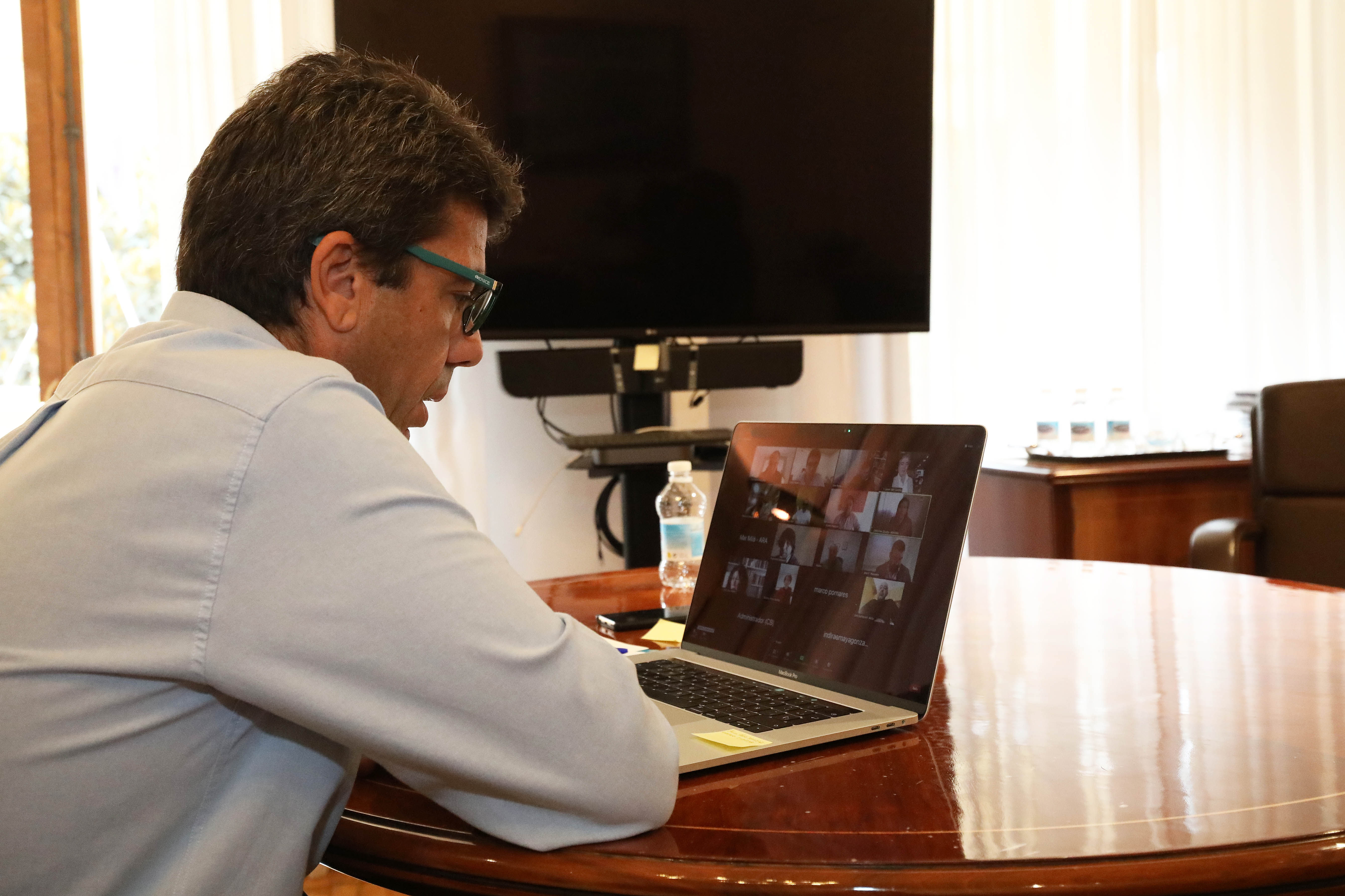 Reunión de Carlos Mazón con la hostelería