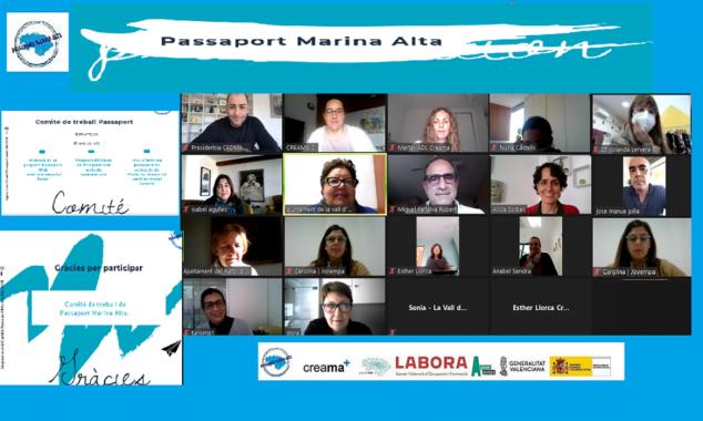 Imagen: Reunión de trabajo del proyecto Passaport Marina Alta