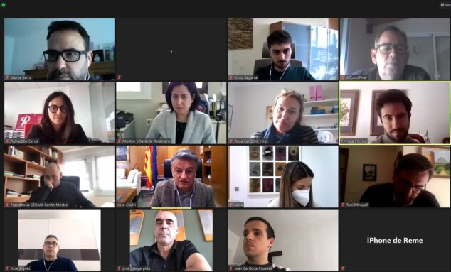 Imagen: Reunión de seguimiento 'Recuperem Xàbia'