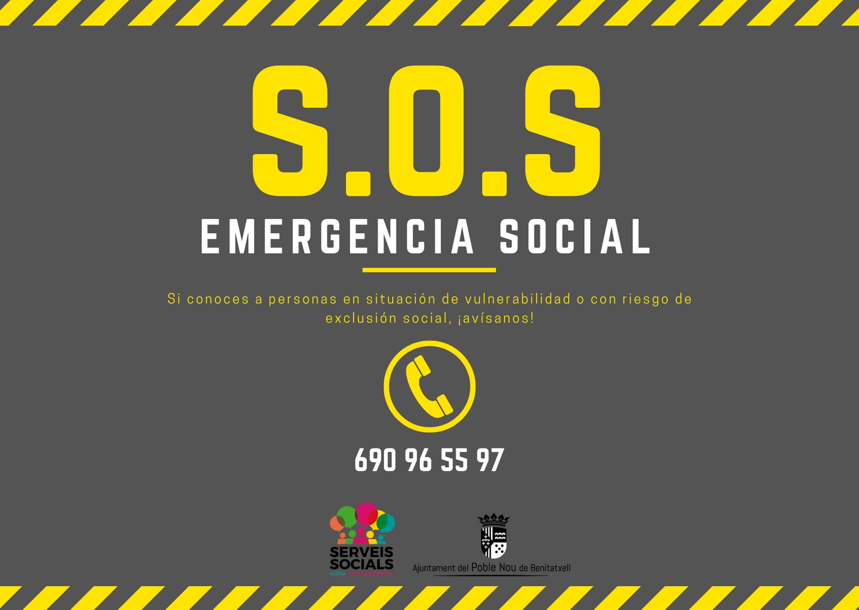 S.O.S Emergencia social Benitatxell