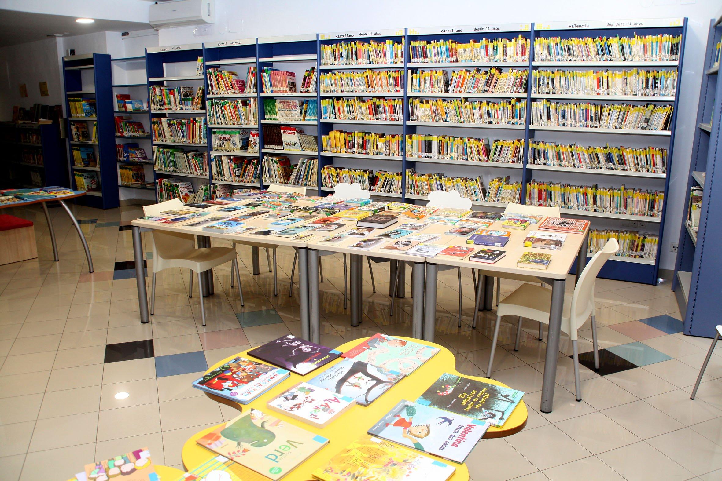 Sala infantil de la Biblioteca Municipal de Xàbia