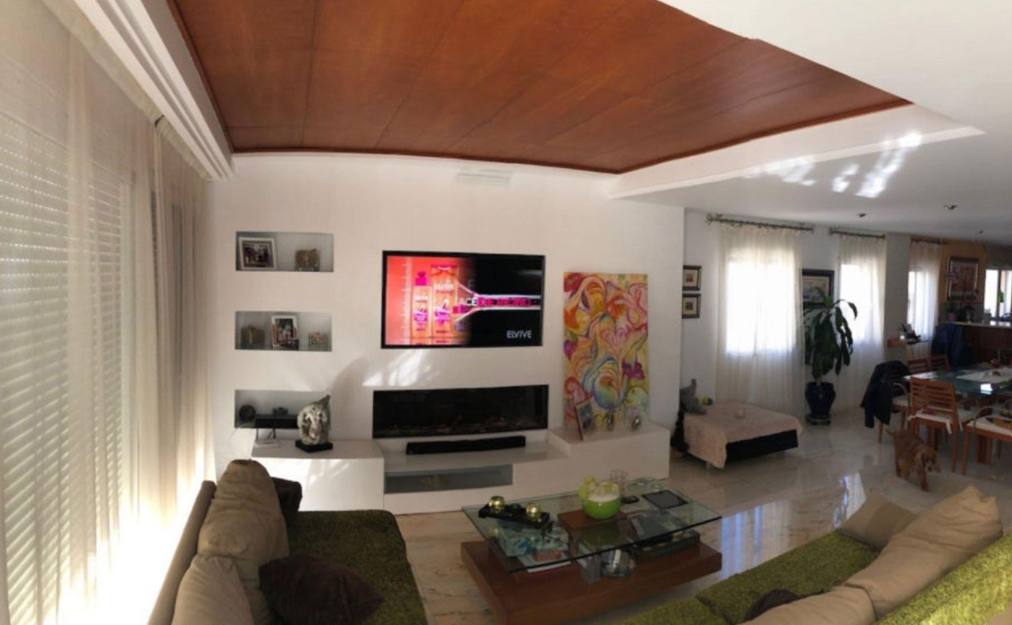 Salón en una casa en venta en el puerto de Jávea – Terramar Costa Blanca