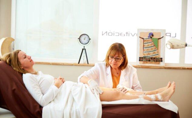 Imagen: Tratamiento contra las varices - Policlínica CUME