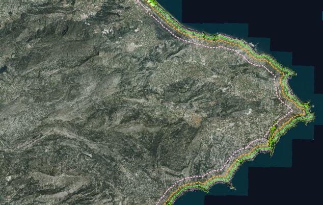 Imagen: Zona protegida por el Pativel
