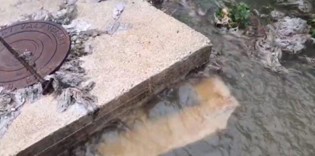 Imagen: Arqueta abierta en el río Gorgos
