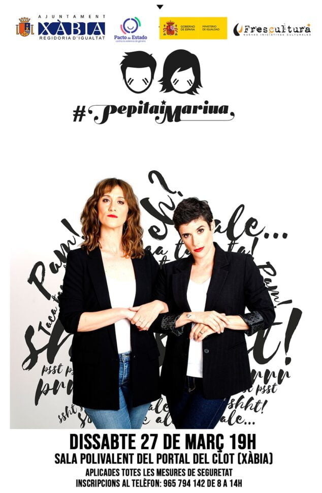 Imagen: Cartel de Pepita i Mariua