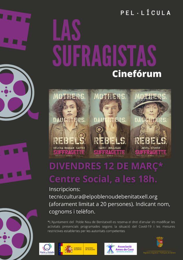Imagen: Cineforum 'Las Sufragistas'