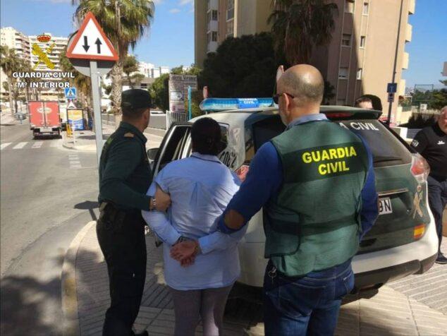 Imagen: Detenida por simulación de delito