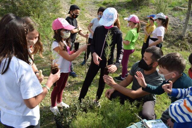 Imagen: Día del árbol El Poble Nou de Benitatxell