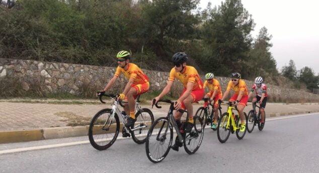 Imagen: El equipo español en la Campeonato de Europa
