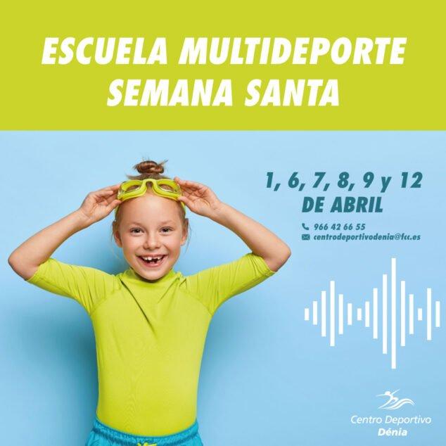 Imagen: Escuela Multideporte de Centro Deportivo Dénia