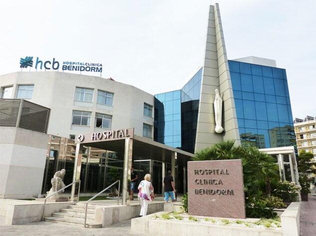 Image: Façade de l'hôpital clinique de Benidorm (HCB)