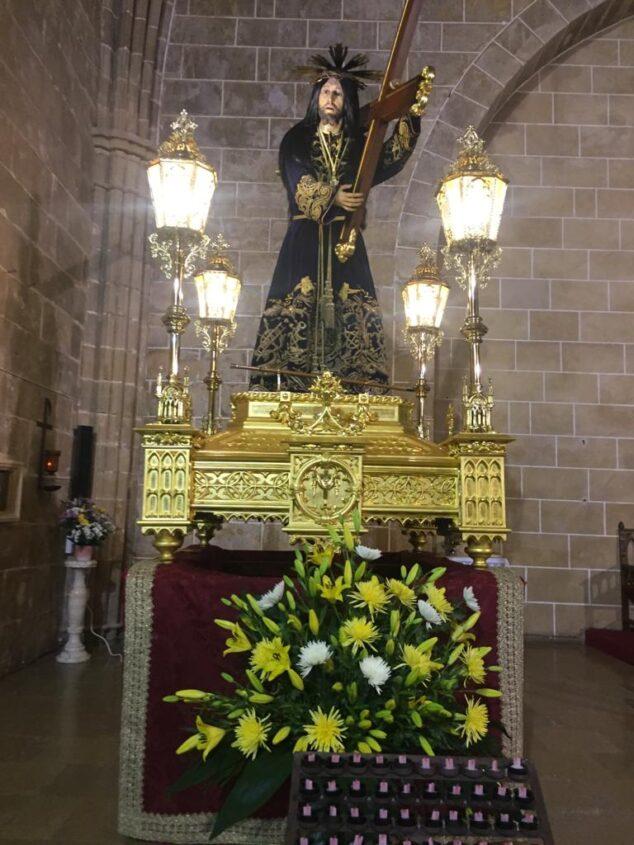 Imagen: Jesús Nazareno en el altar de la Iglesia San Bartolomé
