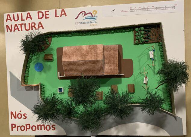 Imagen: Maqueta para convertir Aula de la Natura en Centro Excursionista