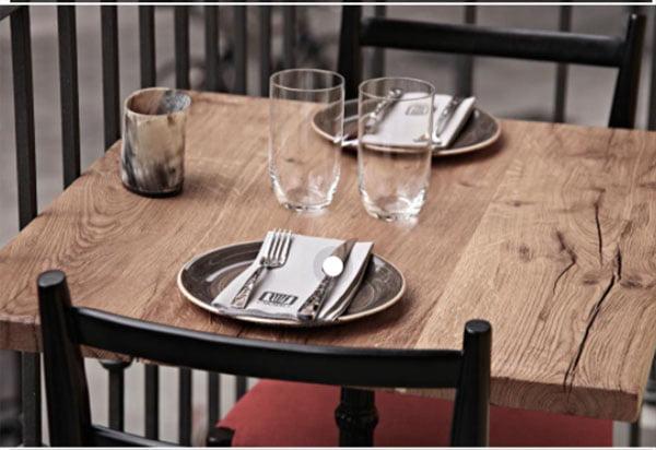 Imagen: Mesa de un restaurante