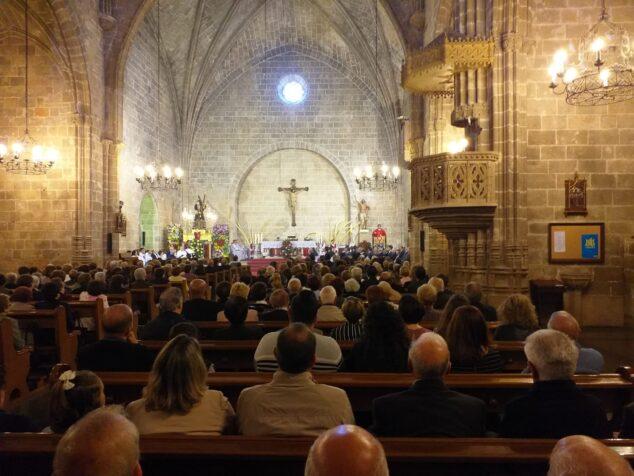Imagen: Misa en honor a Jesús Nazareno