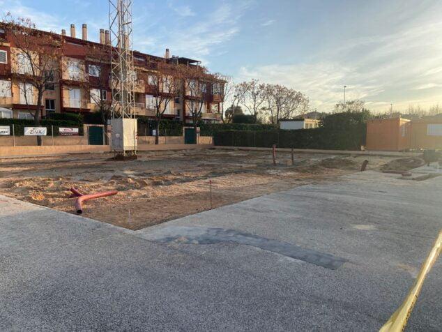 Imagen: Nuevo emplazamiento de las pistas de pádel