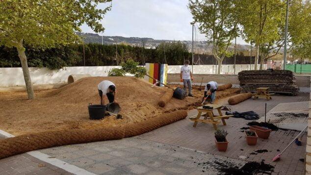 Imagen: Remodelación patio de infantil