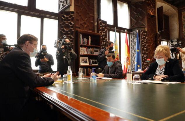 Imagen: Reunión consellers y president