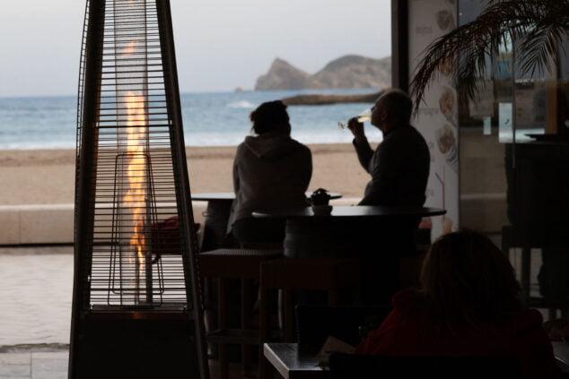 Imagen: Tomar algo al lado del mar en invierno - Restaurante La Fontana