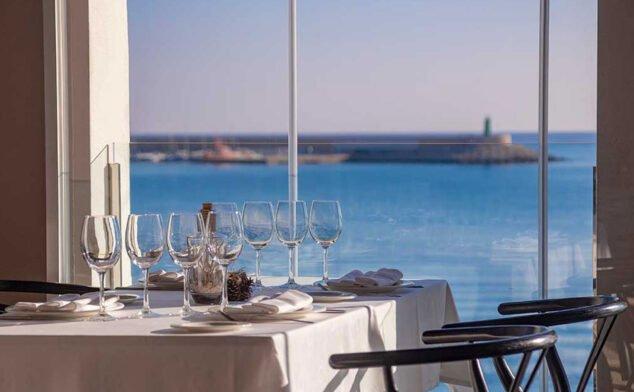 Imagen: Vistas al mar desde Restaurante Noray en Jávea