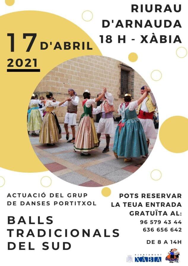 Imagen: Actuación del Grup Danses Xàbia