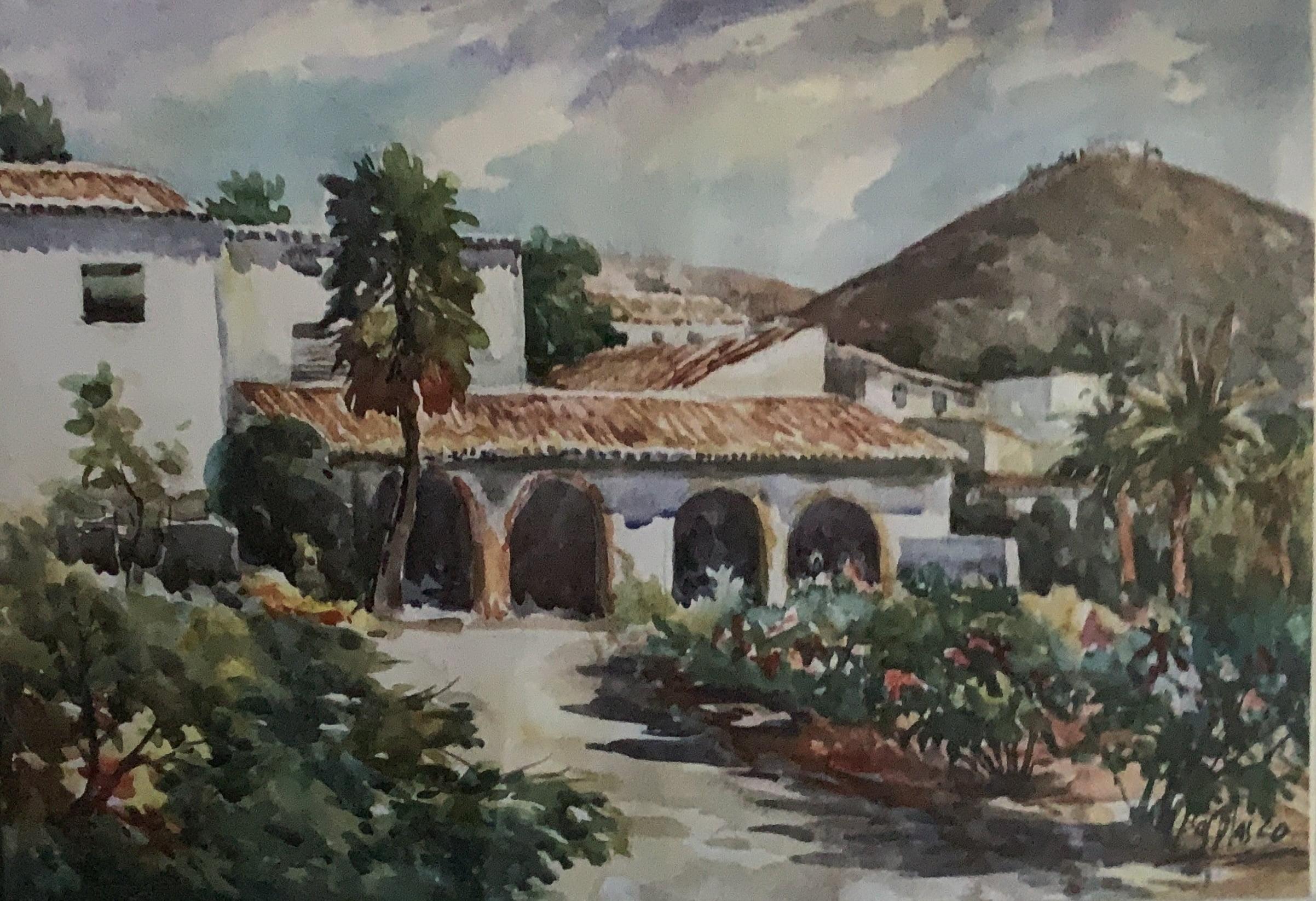 Acuarela de Antonio Bas