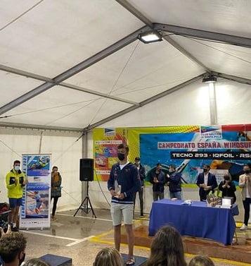 Imagen: Alex Ortega podio en Santa Pola