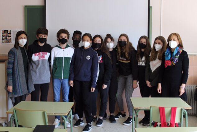 Imagen: Alumnos y docentes participantes de Erasmus+