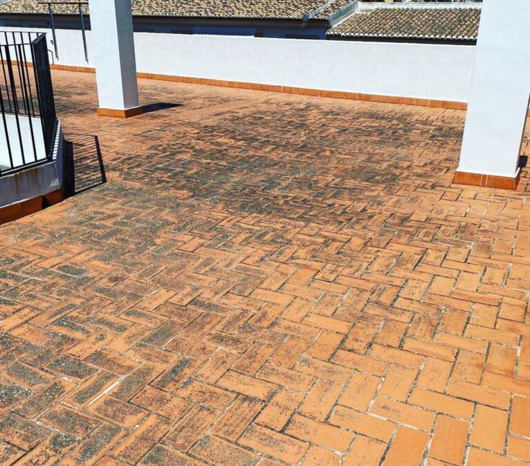 Antes de la impermeabilización de una terraza - Pinturas Juanvi Ortolà