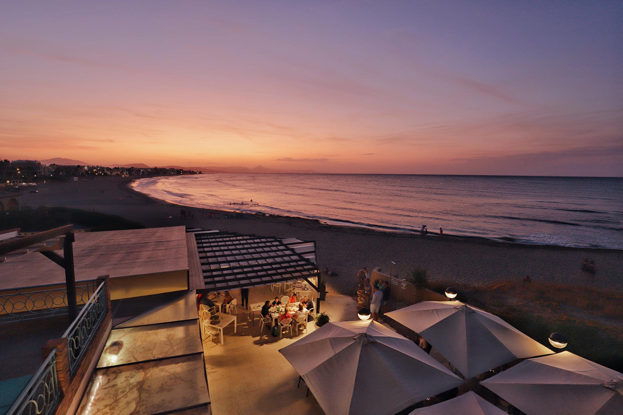Atardecer en Dénia – Restaurant Noguera