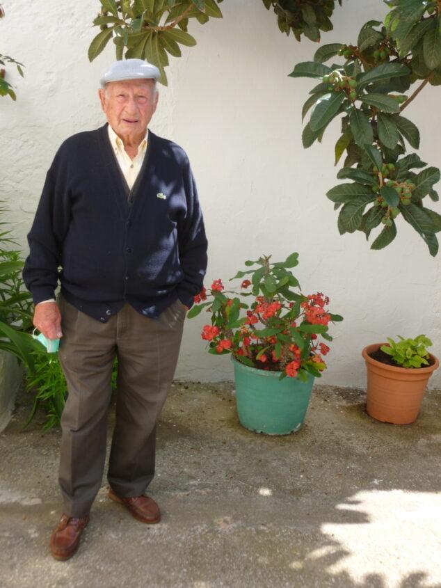 Imagen: Bartolomé Buigues Bolufer, hijo de Jaime Buigues entrevistado por el autor