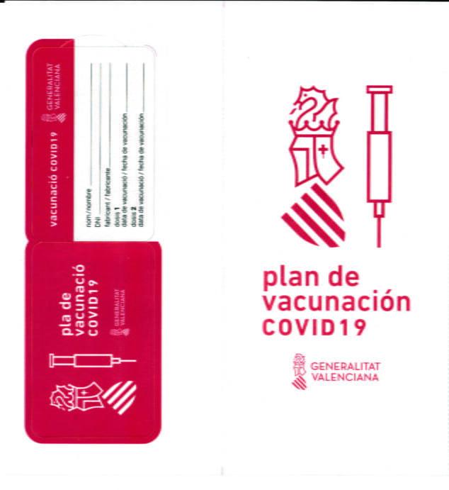 Imagen: Carnet de vacunación