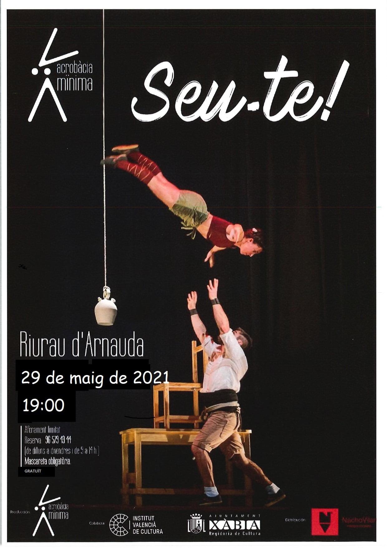 Cartel del espectáculo 'Seu-te!'