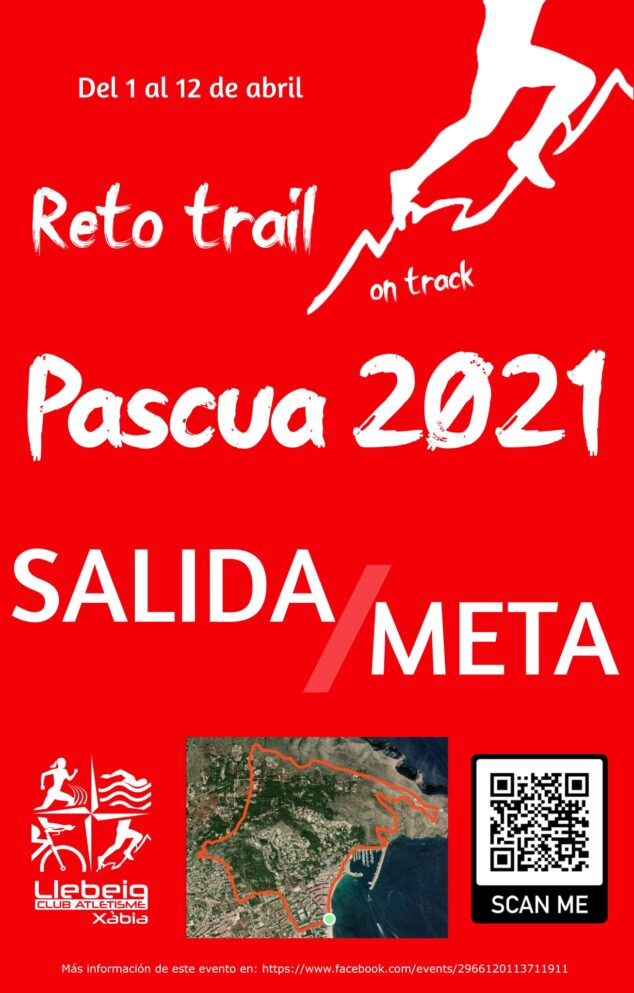Imagen: Cartel del Reto Trail Pascua