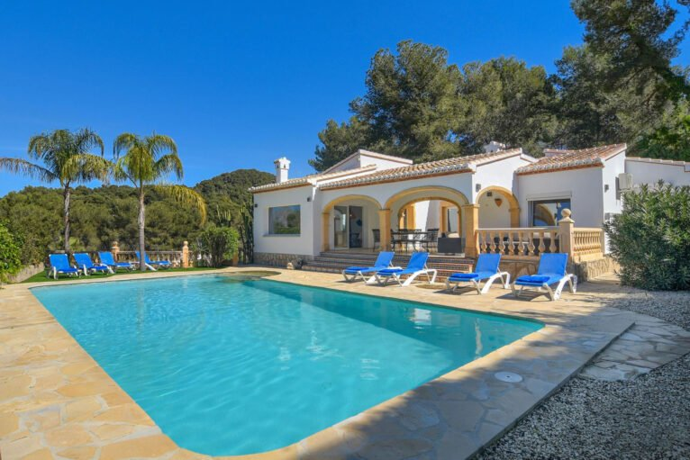 Gran casa de alquiler para vacaciones en Jávea - Aguila Rent a Villa