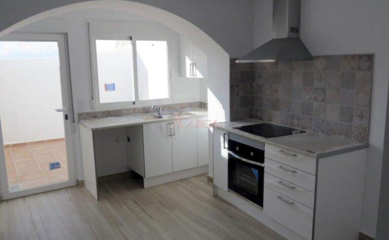 Cocina de una casa de pueblo en venta en Benitachell - Xabiga Inmobiliaria