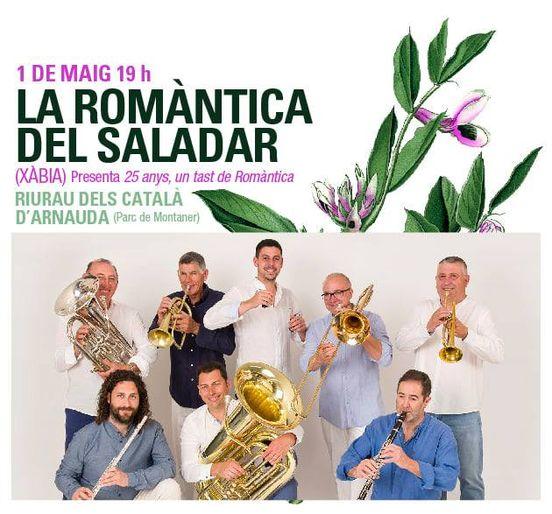 Concierto Xàbia Folk La Romántica del Saladar
