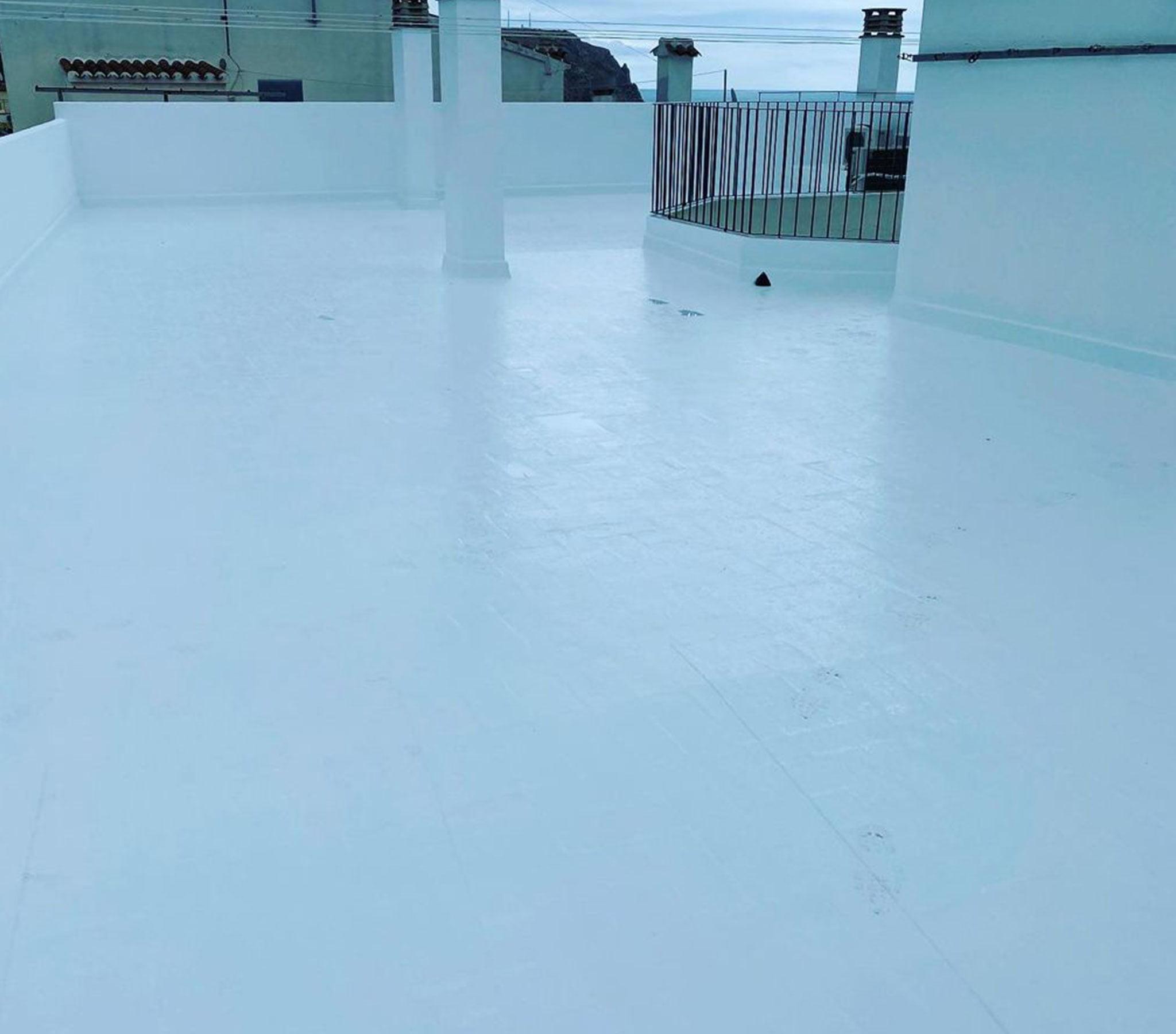 Después de la impermeabilización de una terraza – Pinturas Juanvi Ortolà