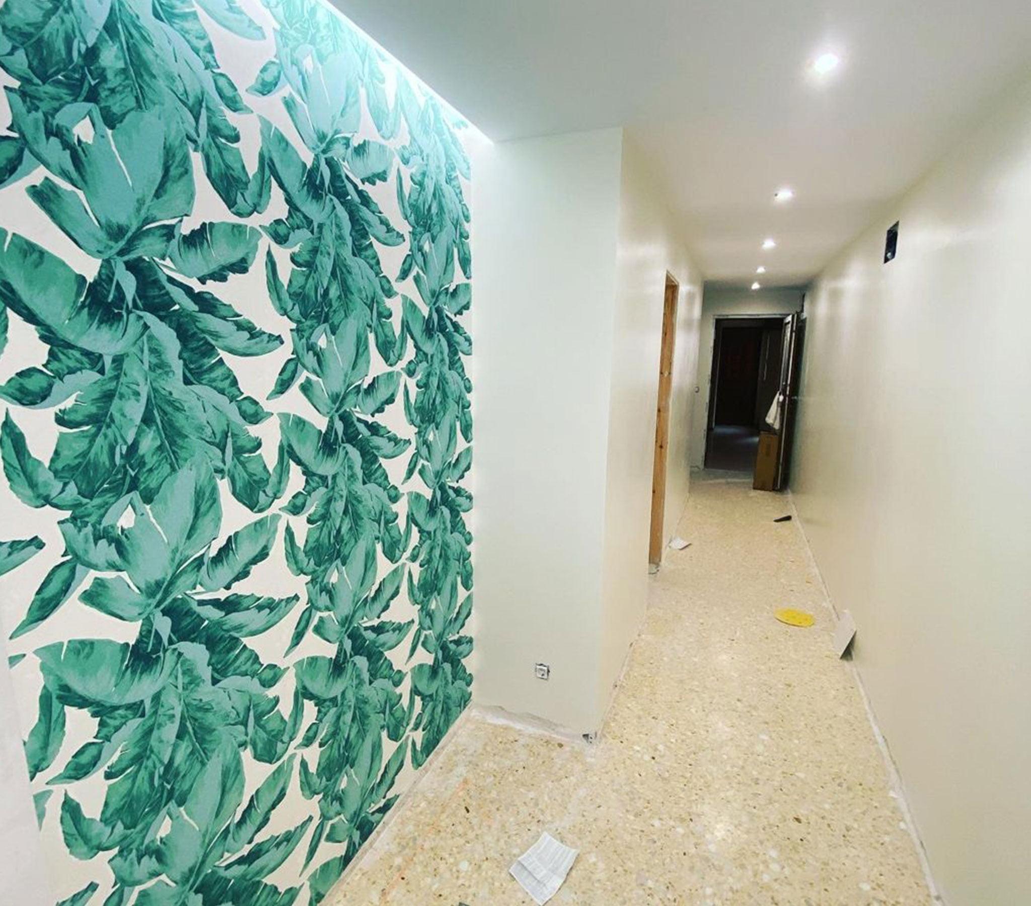 Después de la pintura del pasillo de una vivienda – Pinturas Juanvi Ortolà